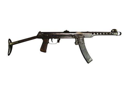Russian PPS-43 submachine gun with stock extended Poster Print - Item # VARPSTACH100423M