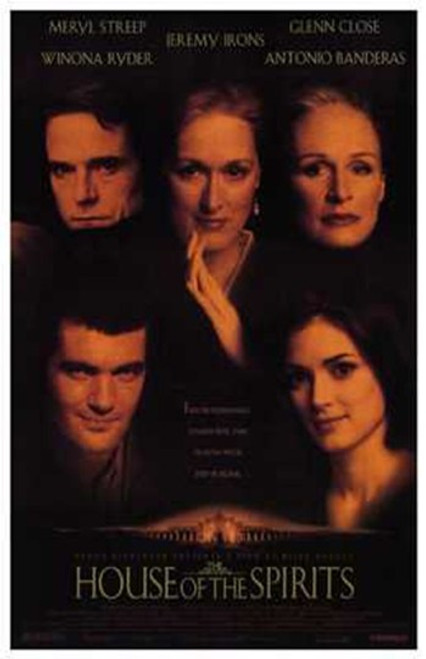 The House of the Spirits Movie Poster (11 x 17) - Item # MOV203990