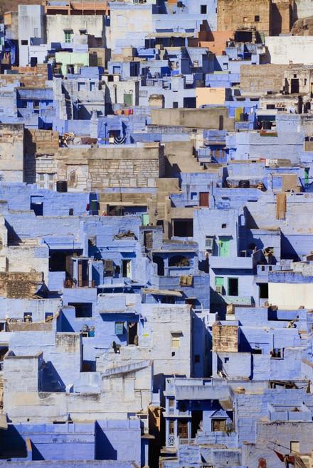 Blue Buildings Of Jodhpur, Aerial View PosterPrint - Item # VARDPI1887252