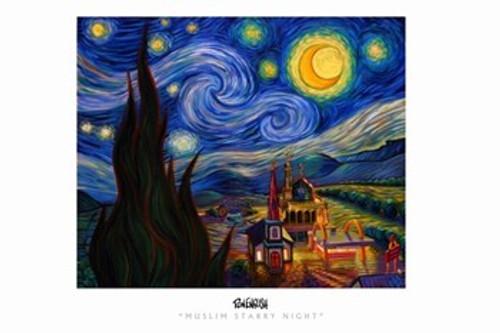 Muslim Stary Night Movie Poster (17 x 11) - Item # MOV311482