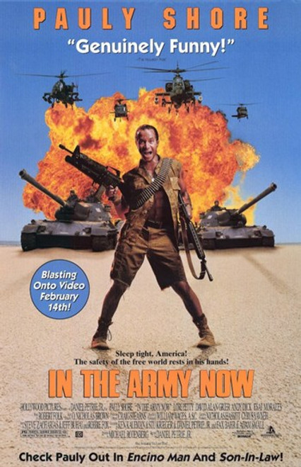 in the Army Now Movie Poster (11 x 17) - Item # MOV211128