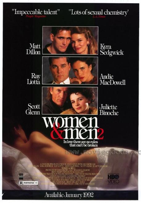 Women & Men 2 Movie Poster Print (27 x 40) - Item # MOVIF7948