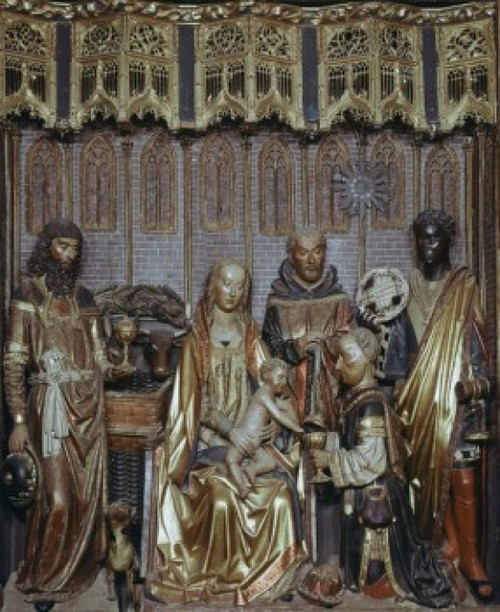 Adoration Of The Magi Gil de Siloe Wood Poster Print - Item # VARSAL900103185