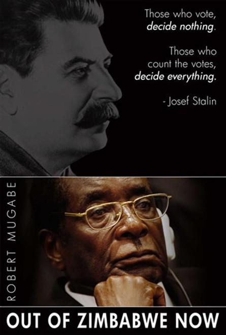 Robert Mugabe Movie Poster (11 x 17) - Item # MOV411916