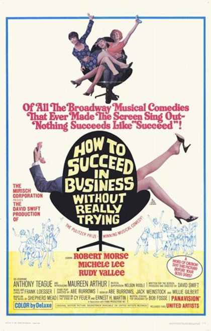 How to Succeed in Business Without Reall Movie Poster (11 x 17) - Item # MOV254995
