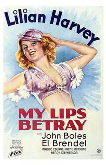 My Lips Betray Movie Poster (11 x 17) - Item # MOV197505