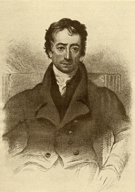 Charles Lamb, (Penname Elia) 1775-1834. English Essayist. From The Book The Masterpiece Library Of Short Stories, English, Volume 7 PosterPrint - Item # VARDPI1857659