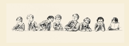 19Th Century Schoolboys And Their Teacher. From The Strand Magazine, Published 1896 PosterPrint - Item # VARDPI2334205