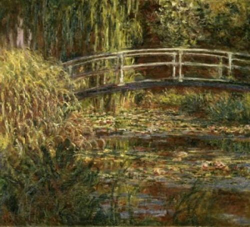 The Pond with Water Lilies: Pink Harmony   1900  Claude Monet  Musee d Orsay  Paris Poster Print - Item # VARSAL11582371
