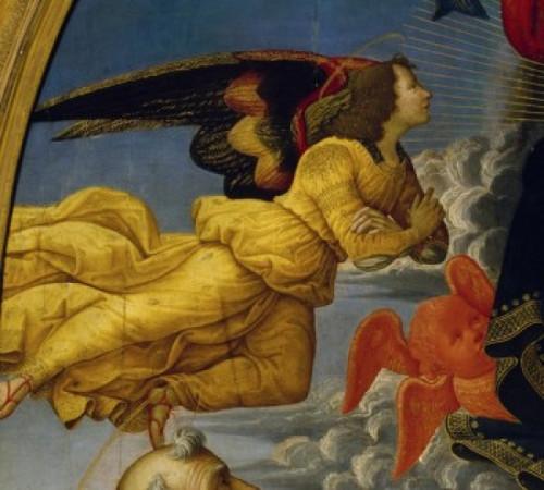 Christ in Glory    1492    Domenico Ghirlandaio   Tempera on Wood Panel   Pinacoteca  Volterra  Italy Poster Print - Item # VARSAL263457