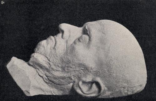 Death Mask Of Adolph Friedrich Erdmann Von Menzel, 1815 To 1905. German Artist. From Die Gartenlaube, Published 1905. PosterPrint - Item # VARDPI1903844