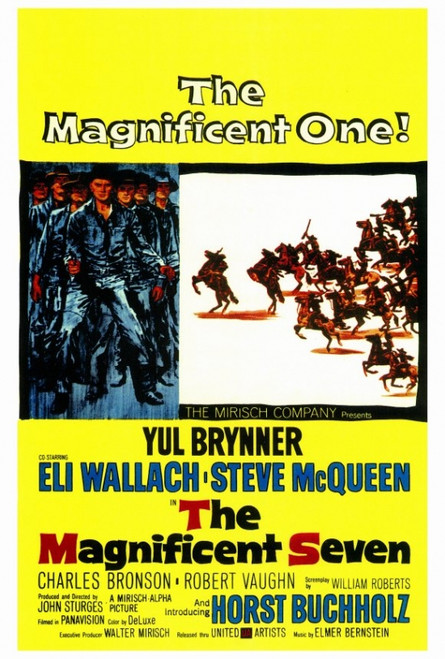 The Magnificent Seven Movie Poster Print (27 x 40) - Item # MOVCF3187