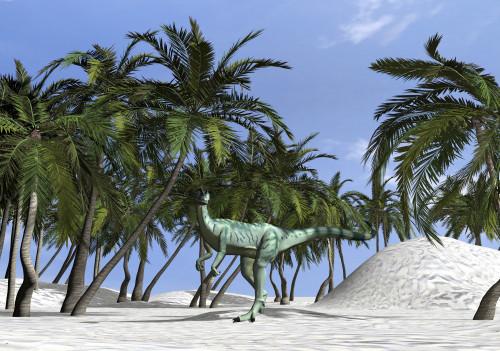 Dilophosaurus hunting for its next meal Poster Print - Item # VARPSTKVA600377P