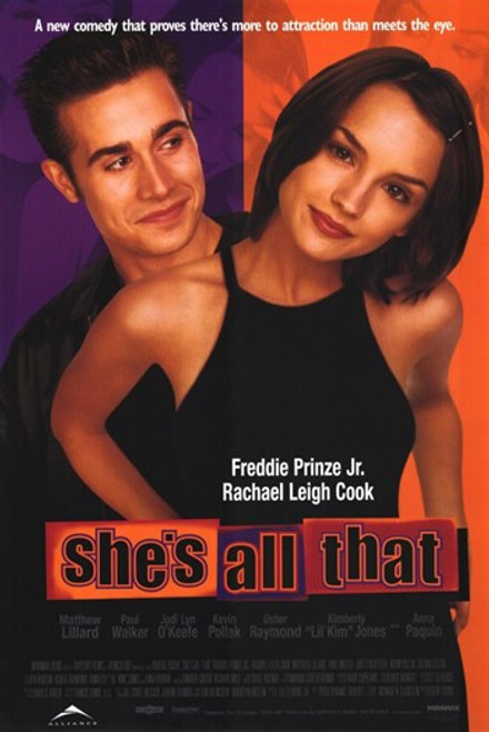 She's All That Movie Poster (11 x 17) - Item # MOV204821
