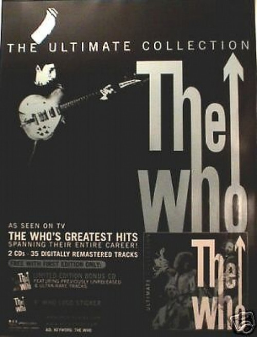 The Who Ultimate Collection Poster - Item # RAR99914598