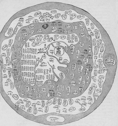 Korean World Map Poster Print by Science Source - Item # VARSCIBN6728