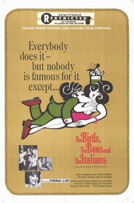 the Bees and the Italians Movie Poster (11 x 17) - Item # MOV260391