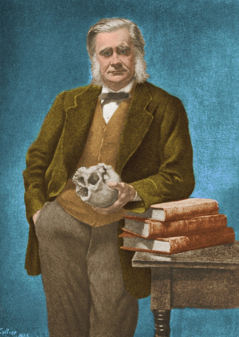Thomas Huxley, English Biologist Poster Print by Science Source - Item # VARSCIBW5510