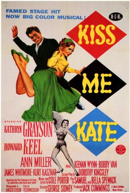Kiss Me Kate Movie Poster Print (27 x 40) - Item # MOVEF9290