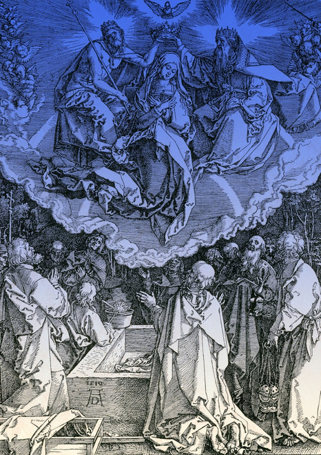 Assumption of Mary Poster Print by Science Source - Item # VARSCIBS4453