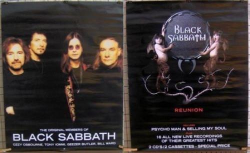 Black Sabbath Original Members Reunion Poster - Item # RAR99914704