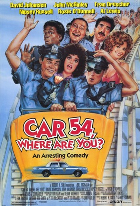 Car 54 Where Are You Movie Poster (11 x 17) - Item # MOV233612