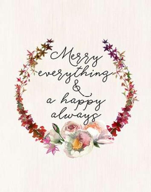 Merry Everything Poster Print by Tara Moss - Item # VARPDXTA1837