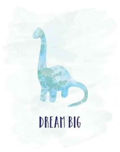 Dream Big Dino Poster Print by Amanda Murray - Item # VARPDX17735