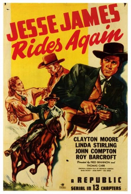 Jesse James Rides Again Movie Poster Print (27 x 40) - Item # MOVAF8294