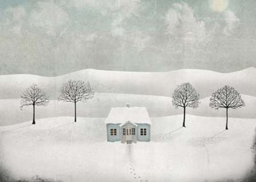 20 x 28 The Igloo Poster Print by Maja Lindberg