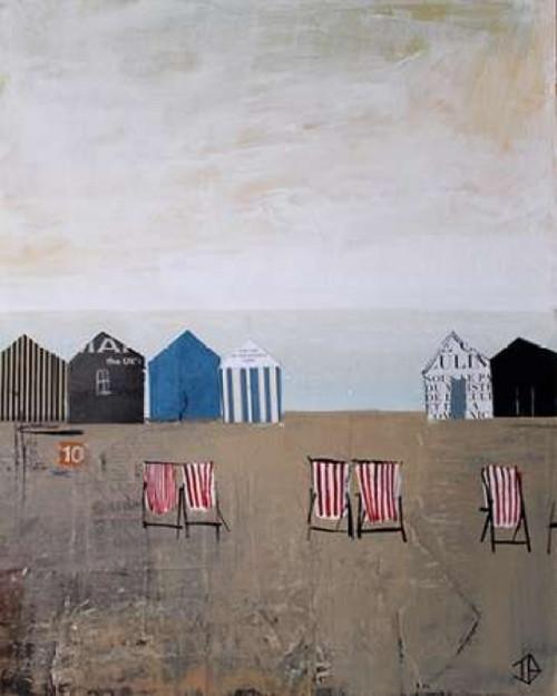 Beach Abstract IV Poster Print by P.S. Art Studios - Item # VARPDXPL1409