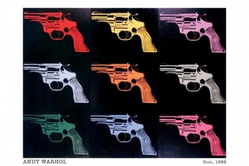 Andy Warhol Guns Gun 1982 Poster Poster Print - Item # VARXPS1191