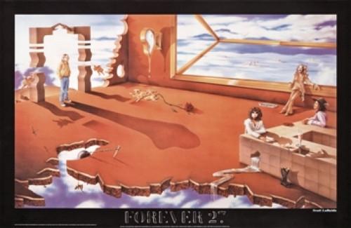 Forever 27 - Scott Lobaido Poster Poster Print - Item # VARSCO270