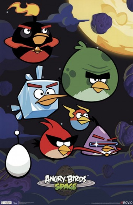 Angry Birds - Space Poster Poster Print - Item # VARPYR5459