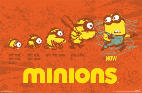 Minions - Evolution Poster Poster Print - Item # VARTIARP13780