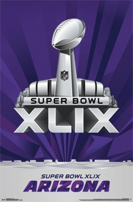 Super Bowl XLIX - Logo Poster Poster Print - Item # VARTIARP13712