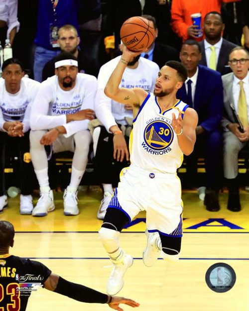 Stephen Curry Game 2 of the 2017 NBA Finals Photo Print - Item # VARPFSAAUE085