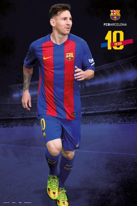 Fc Barcelona 2016/2017 Messi Pose Poster Poster Print - Item # VARGPE5083