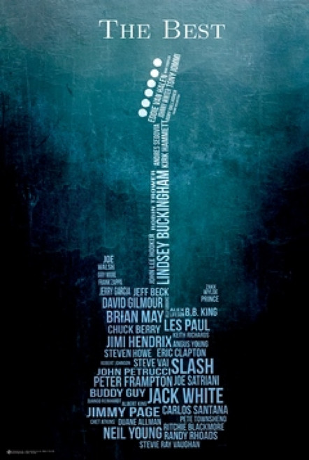 Guitar The Best Poster Poster Print - Item # VARSCO10560