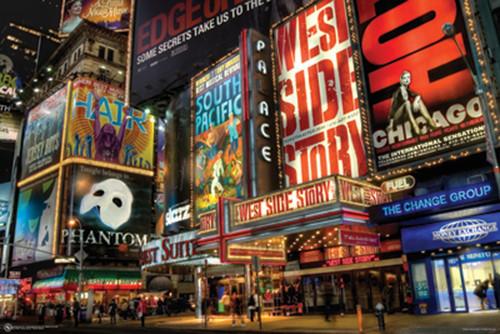 Times Square Theater District Poster Poster Print - Item # VARPSPPSA009510