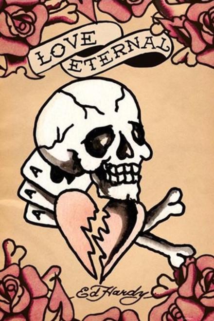 Love Eternal Poster Poster Print by Ed Hardy - Item # VARPYRPP31566