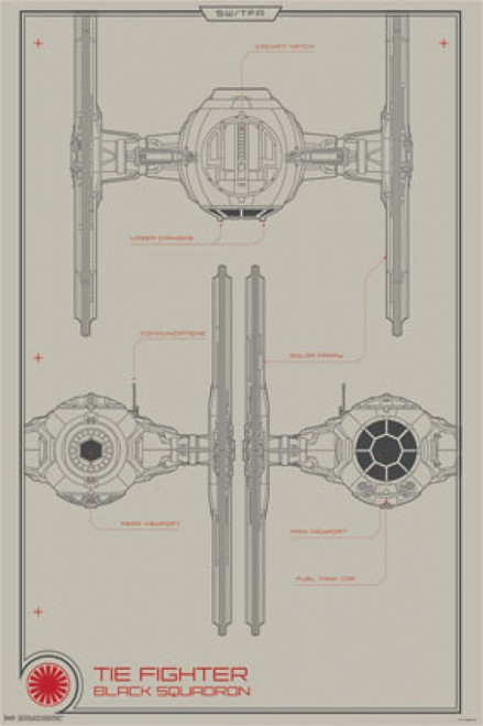 Collector - Star Wars The Force Awakens - Black Squadron Poster Poster Print - Item # VARTIARP13978