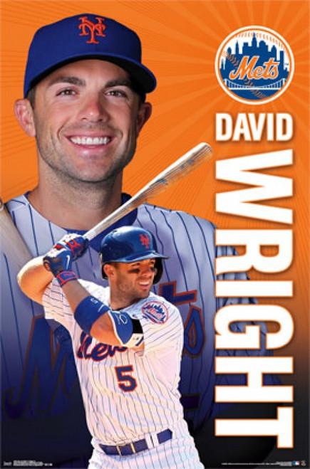 New York Mets&reg - D Wright 15 Poster Poster Print - Item # VARTIARP14002