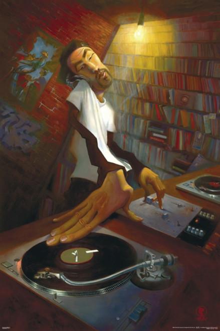 Justin Bua - The DJ Poster Poster Print - Item # VARPYRPAS0393