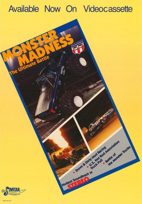 Monster Madness The Ultimate Battle Movie Poster Print (27 x 40) - Item # MOVCG4006