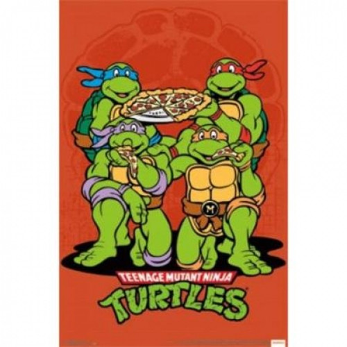 Teenage Mutant Ninja Turtles Pizza Poster Poster Print - Item # VARSCO13590