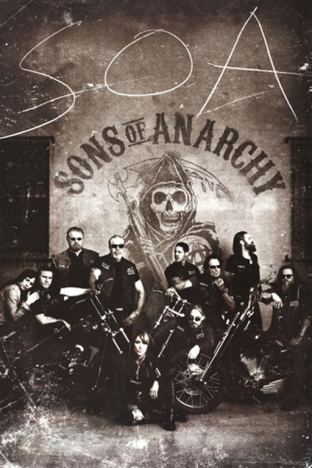 Sons of Anarchy - Vintage Poster Poster Print - Item # VARPYRPAS0407