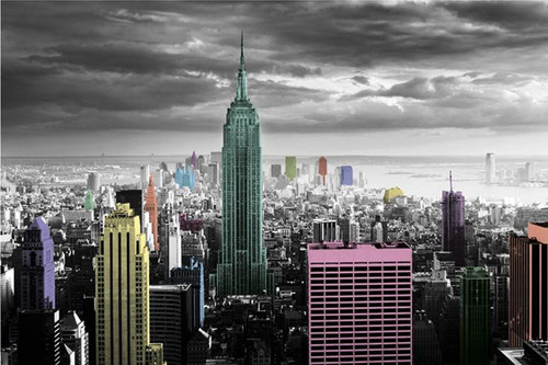 New York - Color Splash Poster Poster Print - Item # VARPYRPP32911