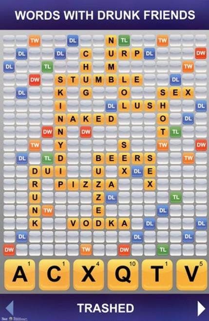 Words with Drunk Friends Poster Poster Print - Item # VARTIARP6069