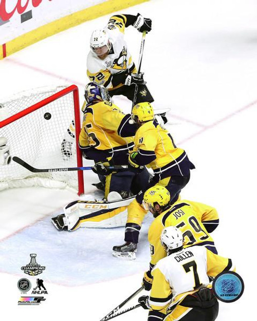 Patric Hornqvist Game Winning Goal Game 6 of the 2017 Stanley Cup Finals Photo Print - Item # VARPFSAAUE192